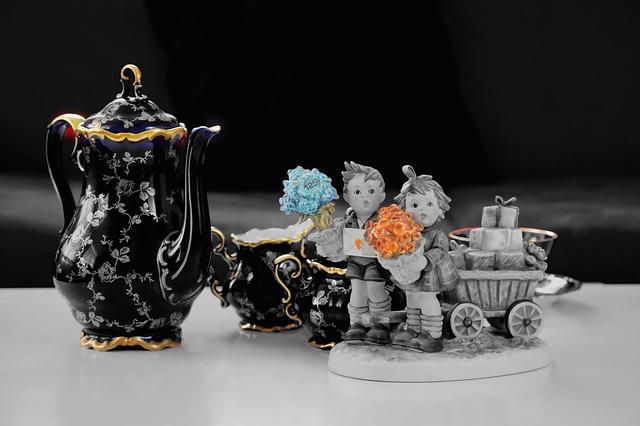 historický porcelán