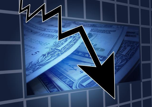 graf finanční krize