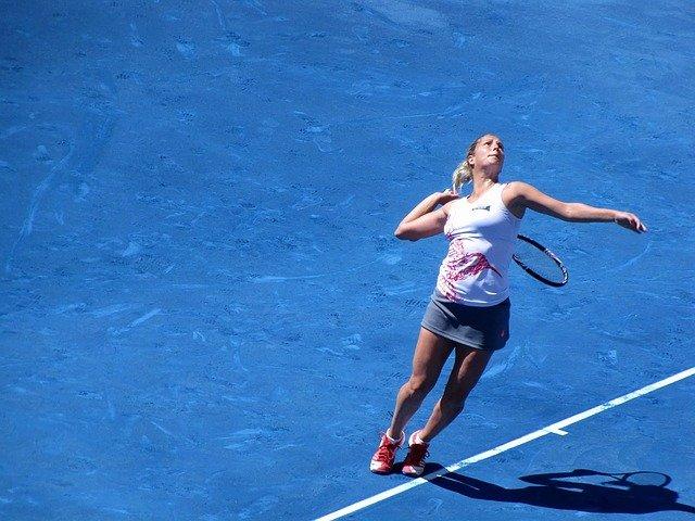 tenisová hráčka