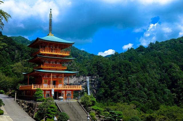 chrám v Japonsku