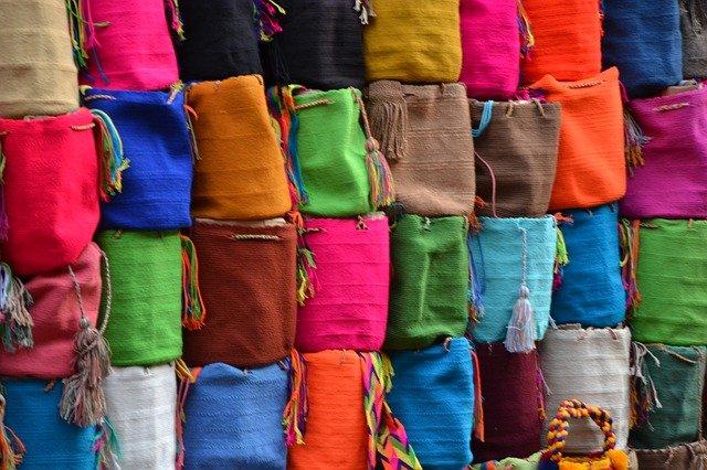 barevné tašky