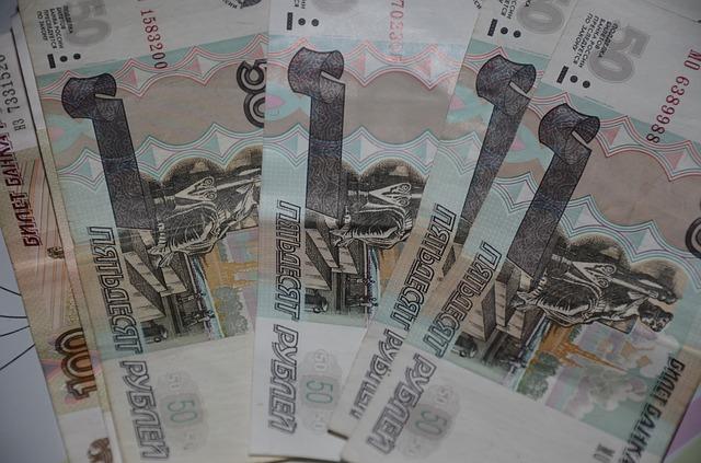 ruské bankovky – padesátky