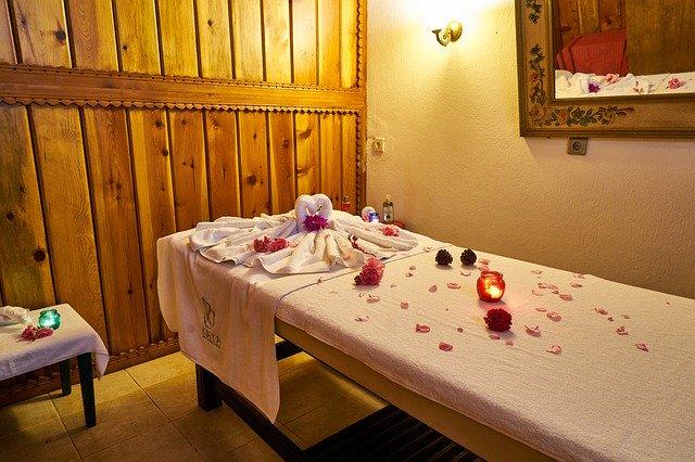 pokoj určený k masážím